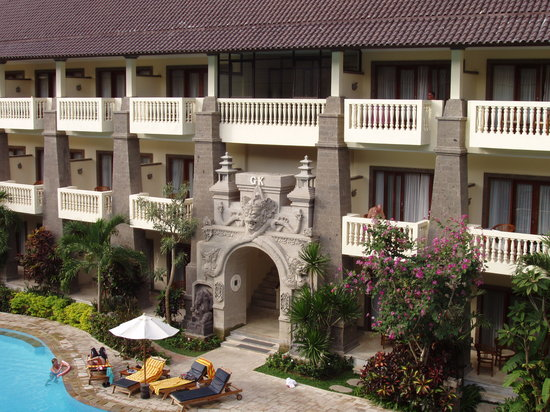 Hotel Kumala Pantai: hotel block