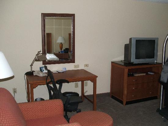 Hilton Garden Inn Albany: Desk Area