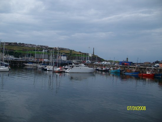 Уайтхевен, UK: Whitehave harbour