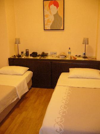 Hotel Niki: twin/dbl room 501