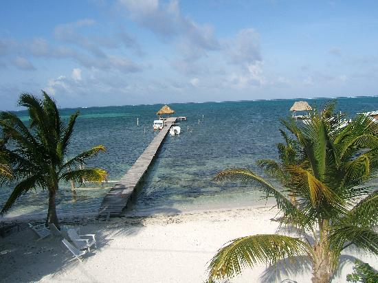 Costa Maya Beach Cabanas: Our view from our room