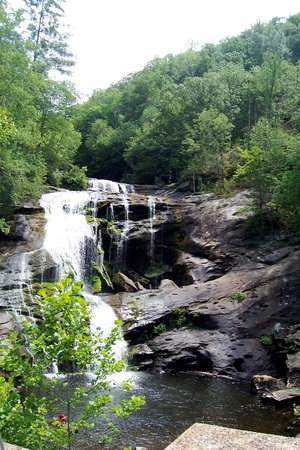 Cherokee National Forest: Waterfall, Monroe County