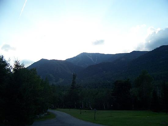 Ledge Rock at Whiteface: View of Whiteface Mtn.