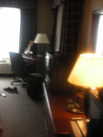 Holiday Inn Washington DC / Greenbelt: Dark Dump - Blurry