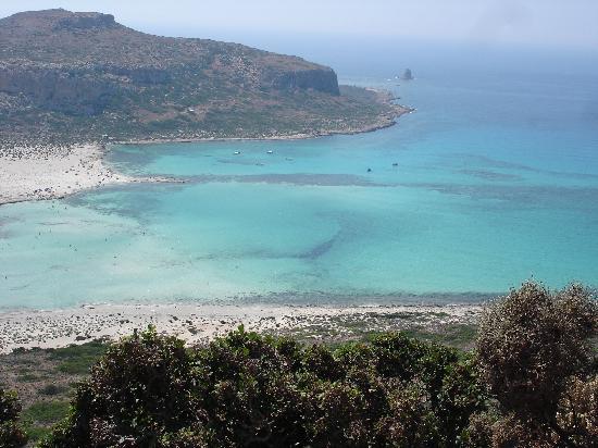 Amoudara, Yunani: Gramvousa et son lagon