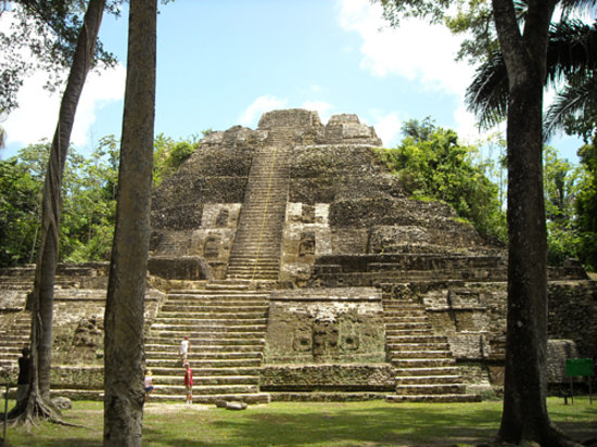 Belize Cruise Excursions: The tallest Mayan temple in Lamanai