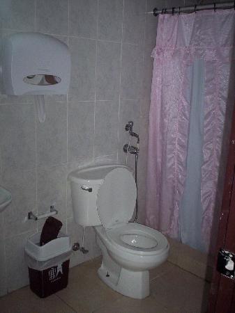 Hotel Residencial Cervantes: baño