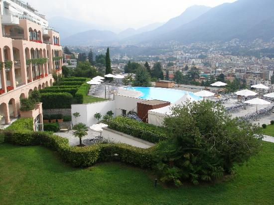 Villa Sassa Hotel, Residence & Spa : view from room 124