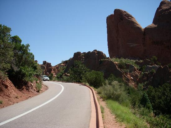 Climb rocks for the best views picture of garden of the gods colorado springs tripadvisor for Garden of the gods rock climbing