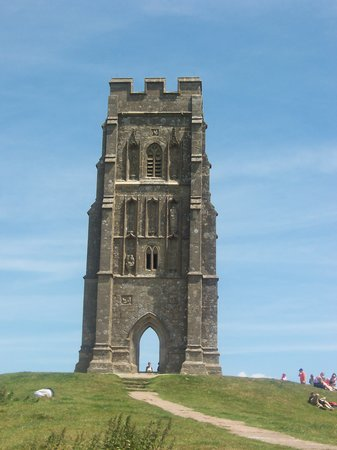 Гластонбери, UK: Glastonbury Tor
