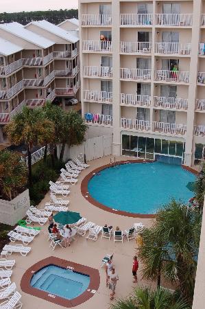 Wonderful Hilton Garden Inn Orange Beach: View Overlooking Pool Area