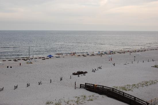 Hilton Garden Inn Orange Beach : View of beach