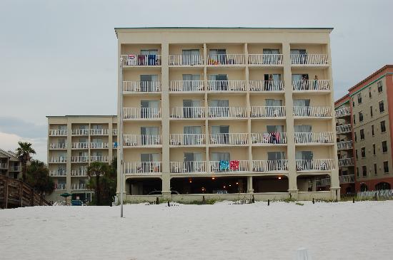 Hilton Garden Inn Orange Beach: View Of HGI From Adjacent Beach Images