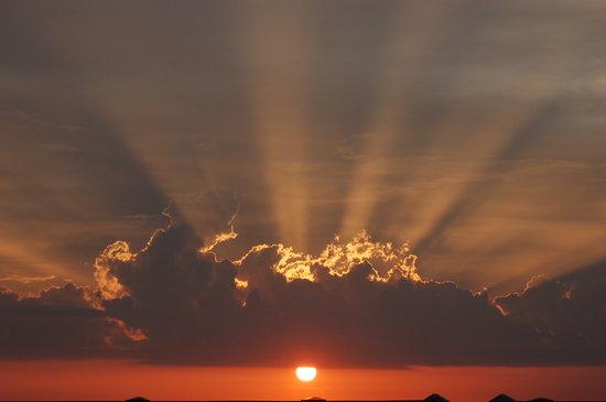 Sunrise at Orange Beach Picture of Hilton Garden Inn Orange