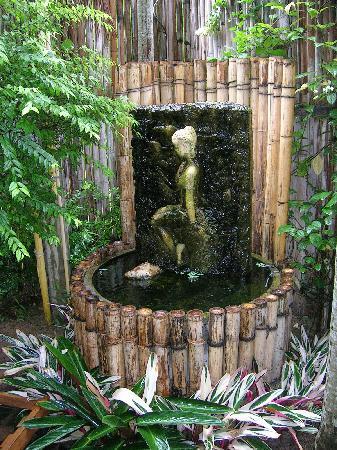 PJ's Place: garden fountain