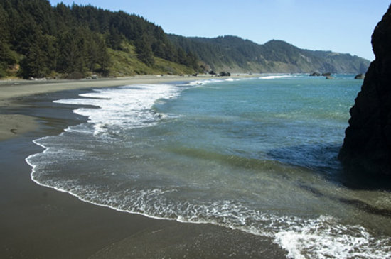 Brookings, Орегон: Whaleshead Beach
