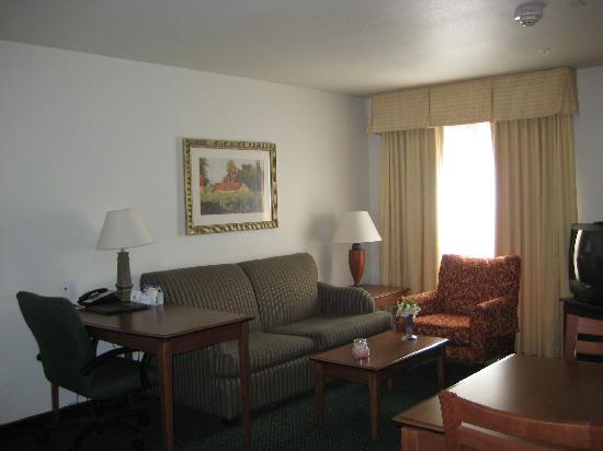 Residence Inn Boise West: livingroom , dining table and desk