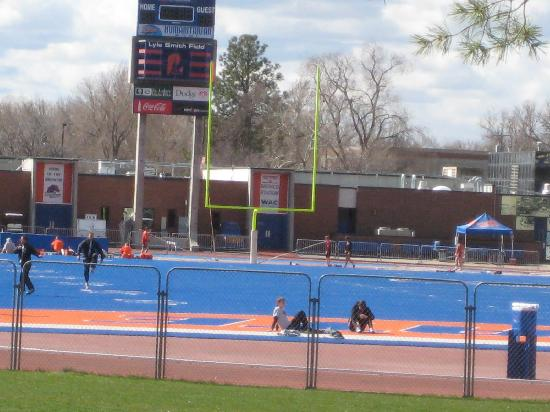 Residence Inn Boise West: The Blue Turf at Boise State University