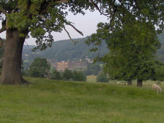 Rowsley, UK: Chatsworth House