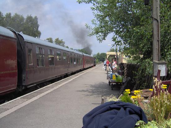 The Old Station House Bed and Breakfast: Peak Rail's Rowsley Station