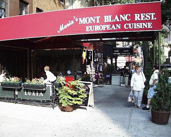 Mont Blanc  Restaurant New York Ny