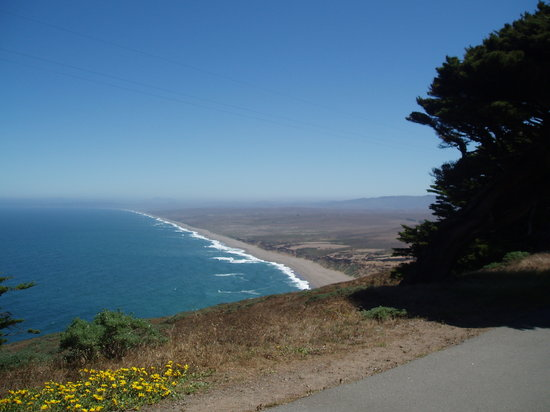 Inverness, Kaliforniya: Point Reyes South Beach