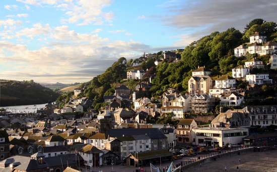 Лоо, UK: Looe Town & Harbour