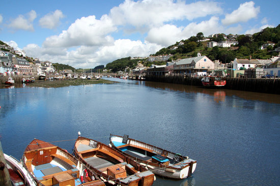 Лоо, UK: Looe Harbour and Ferries
