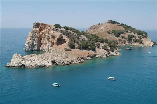 Sarigerme, Turkey: Baba islands