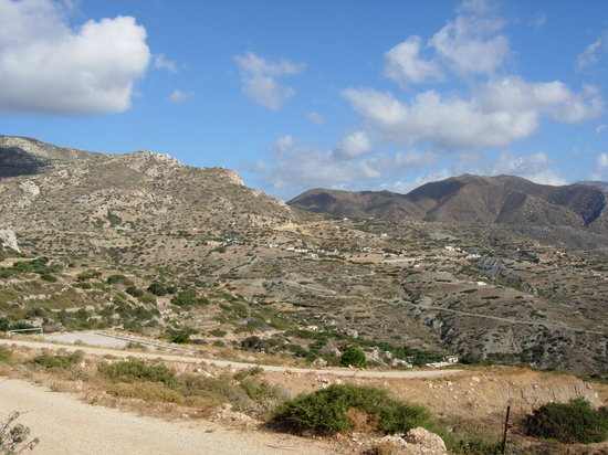 Karpathos, Hellas: zone interne dell'isola