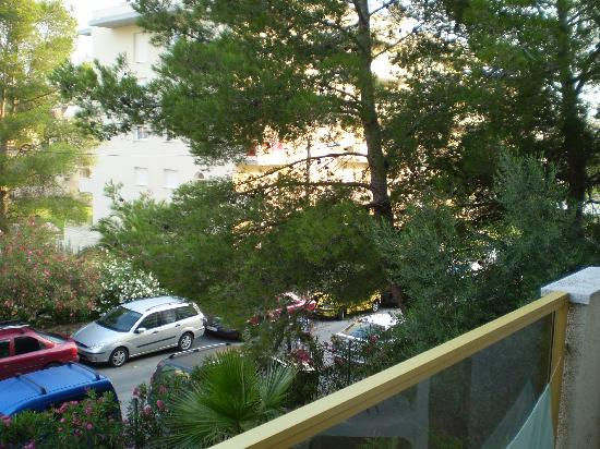 Best Sol Dor: View from outside-room balcony