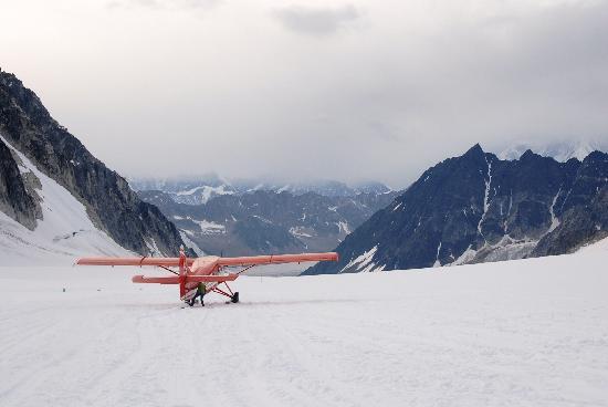 Foraker Restaurant : on a glacier