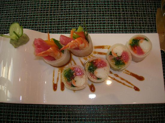 The Westin Dubai Mina Seyahi Beach Resort & Marina: Our Sushi