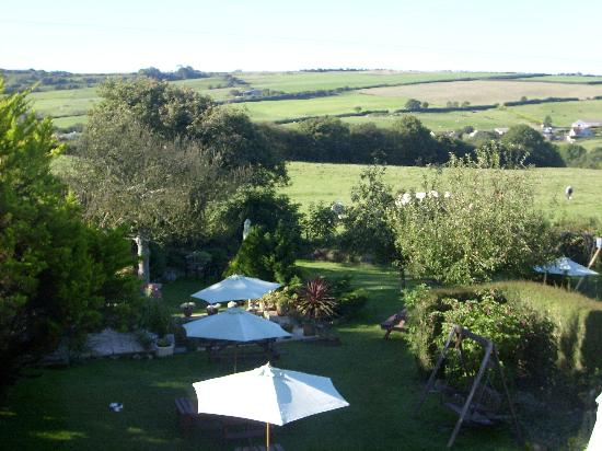 The Spyway Inn: view from bedroom
