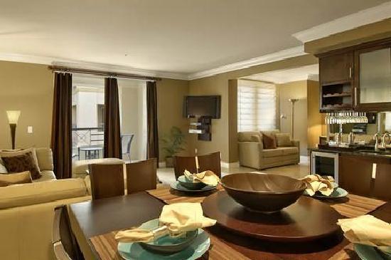 Meridian Luxury Suites: dinning area as advertised