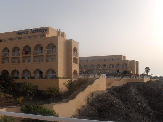 Sunrise Beach Maxorata: Vue générale hotel