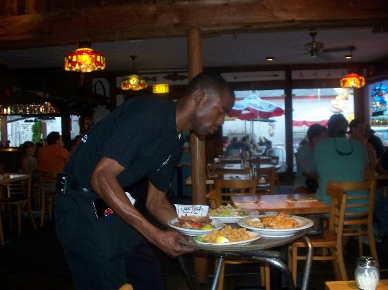 Governor Bradford: Chris the waiter