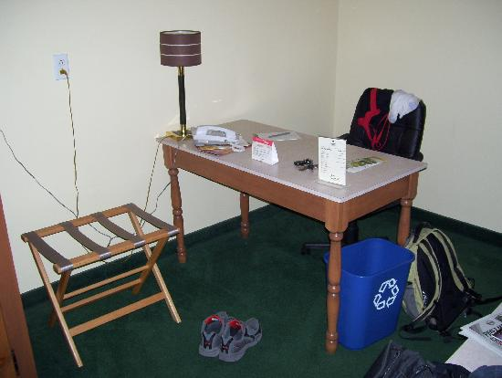 Auberge Gouverneur Shawinigan: the work station-free internet