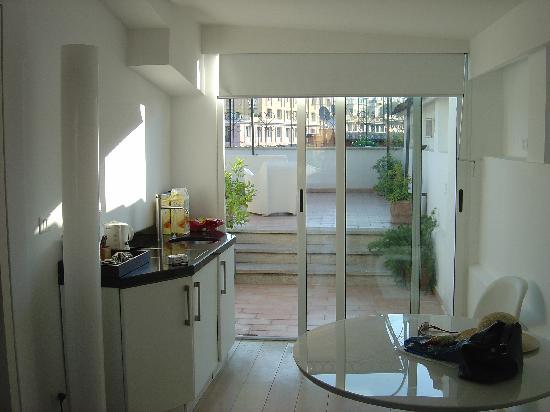 Roma Resort Barberini : living area