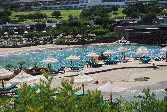 Elounda Peninsula All Suite Hotel: The Beach