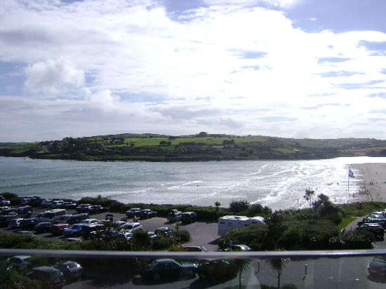 Inchydoney Island Lodge & Spa: View from our balcony