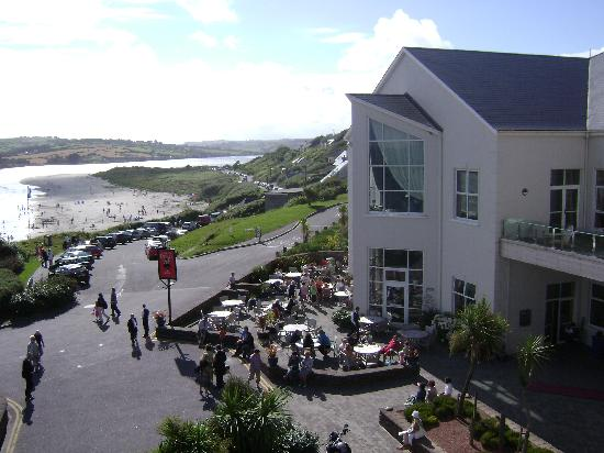 Inchydoney Island Lodge & Spa: View to the beach