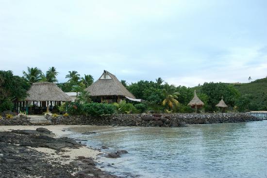Navutu Stars Fiji Hotel & Resort: where you get off boat for island