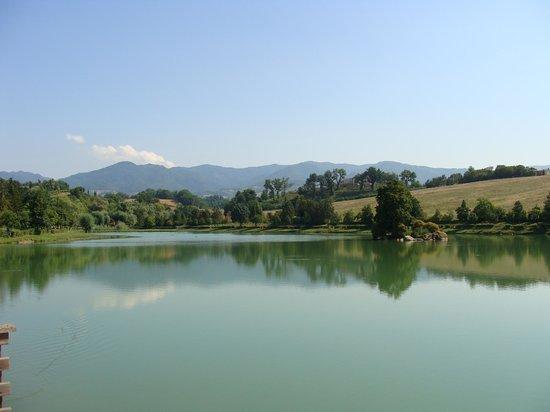 B&B Mamma Serena: the lake of Vicchio
