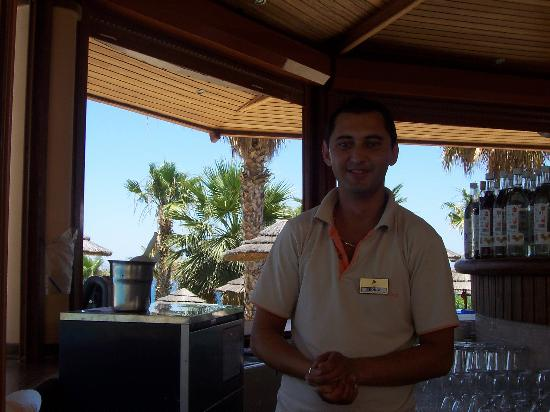 Atlantica Golden Beach Hotel : George the lovely barman
