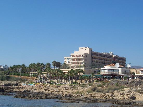 Atlantica Golden Beach Hotel : View from the sea