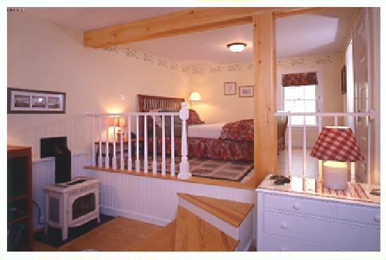 Newcastle Inn: Here's the Cottage Suite, my favorite