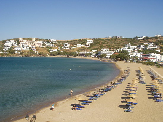 Andros, Greece: Batsi beach