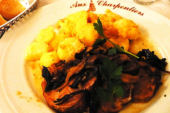 Aux Charpentiers: very tasty lamb