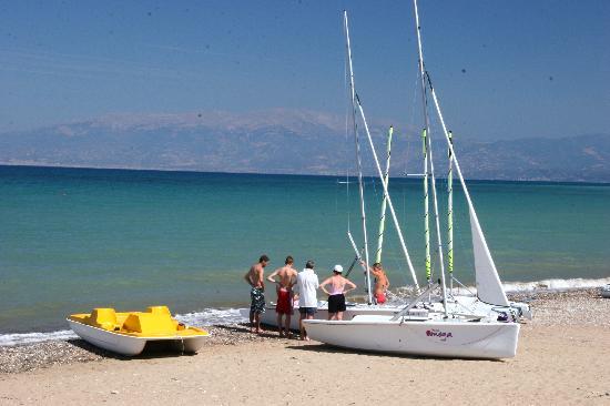Ionian Beach: Sailing